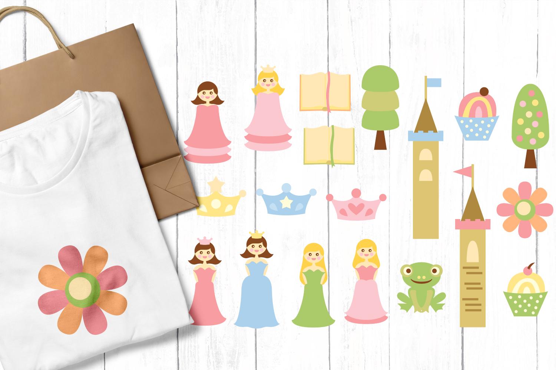 Just For Girls Clip Art Illustrations Huge Bundle example image 3