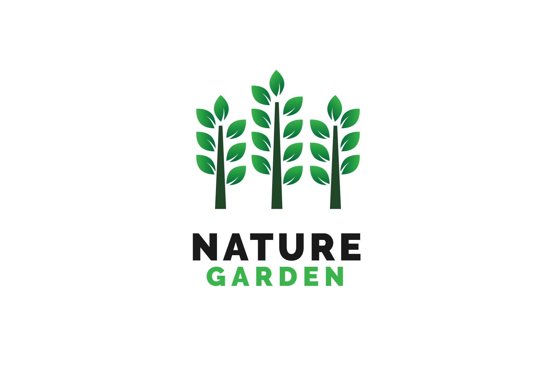 Nature Garden Logo Vol.01 example image 1