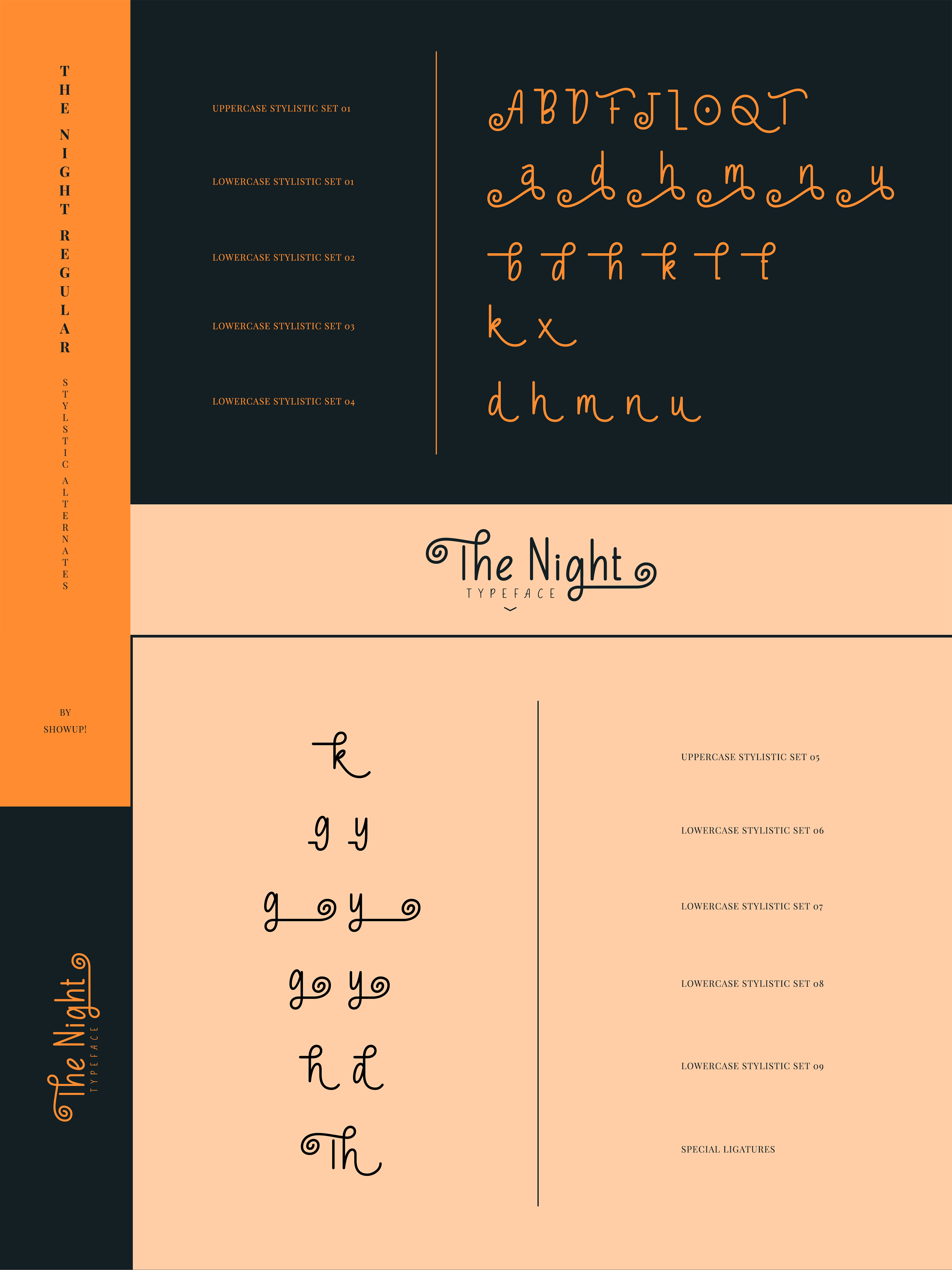 The Night Typeface example image 11