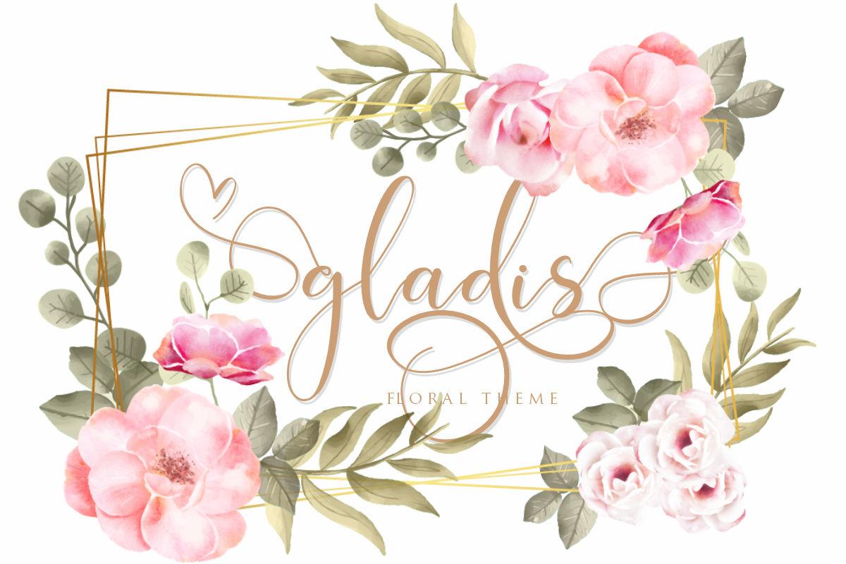 hokie   Beauty Stylistic Calligraphy example image 12