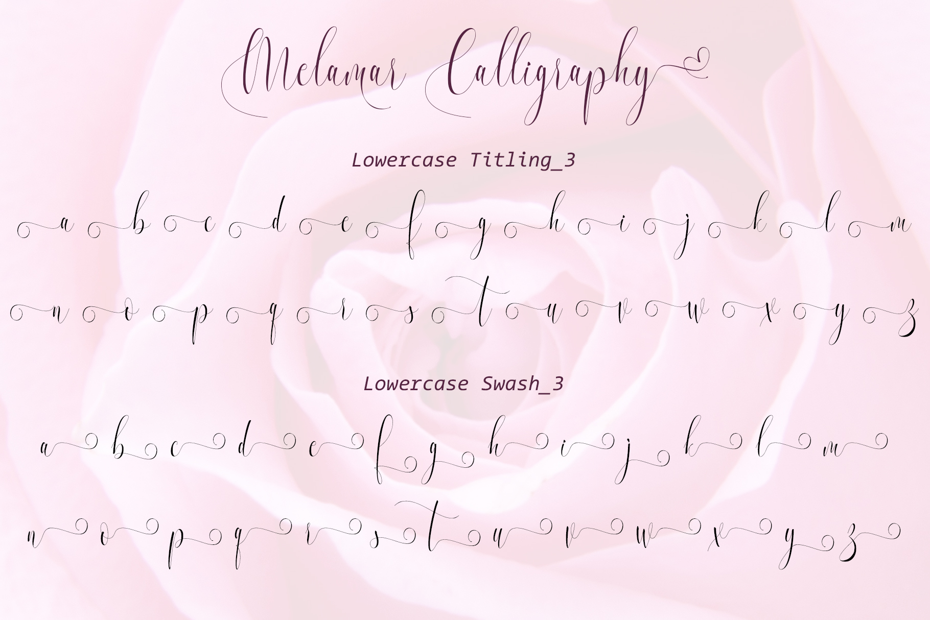 Melamar Calligraphy example image 9