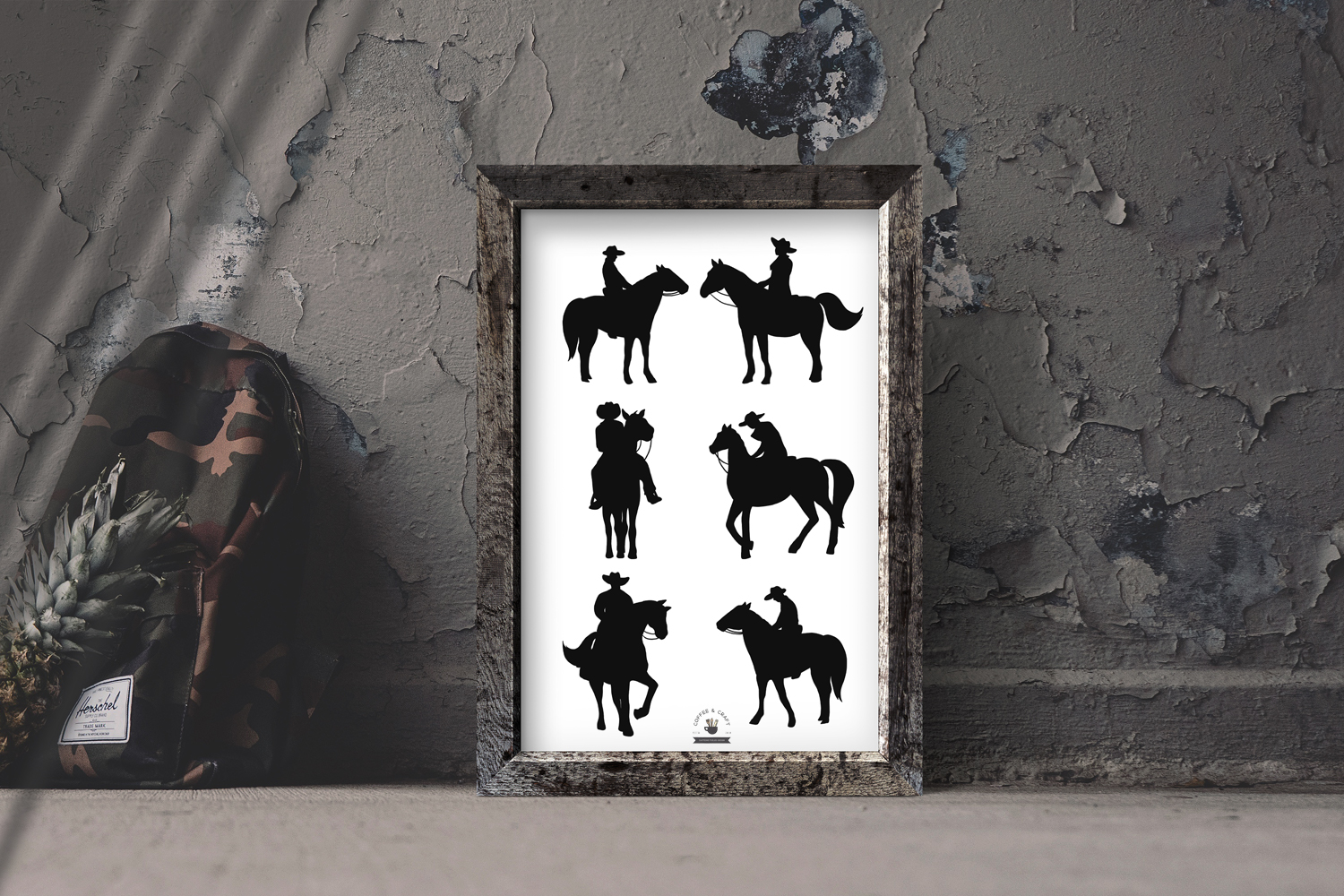 Cowboy Western Silhouettes example image 5