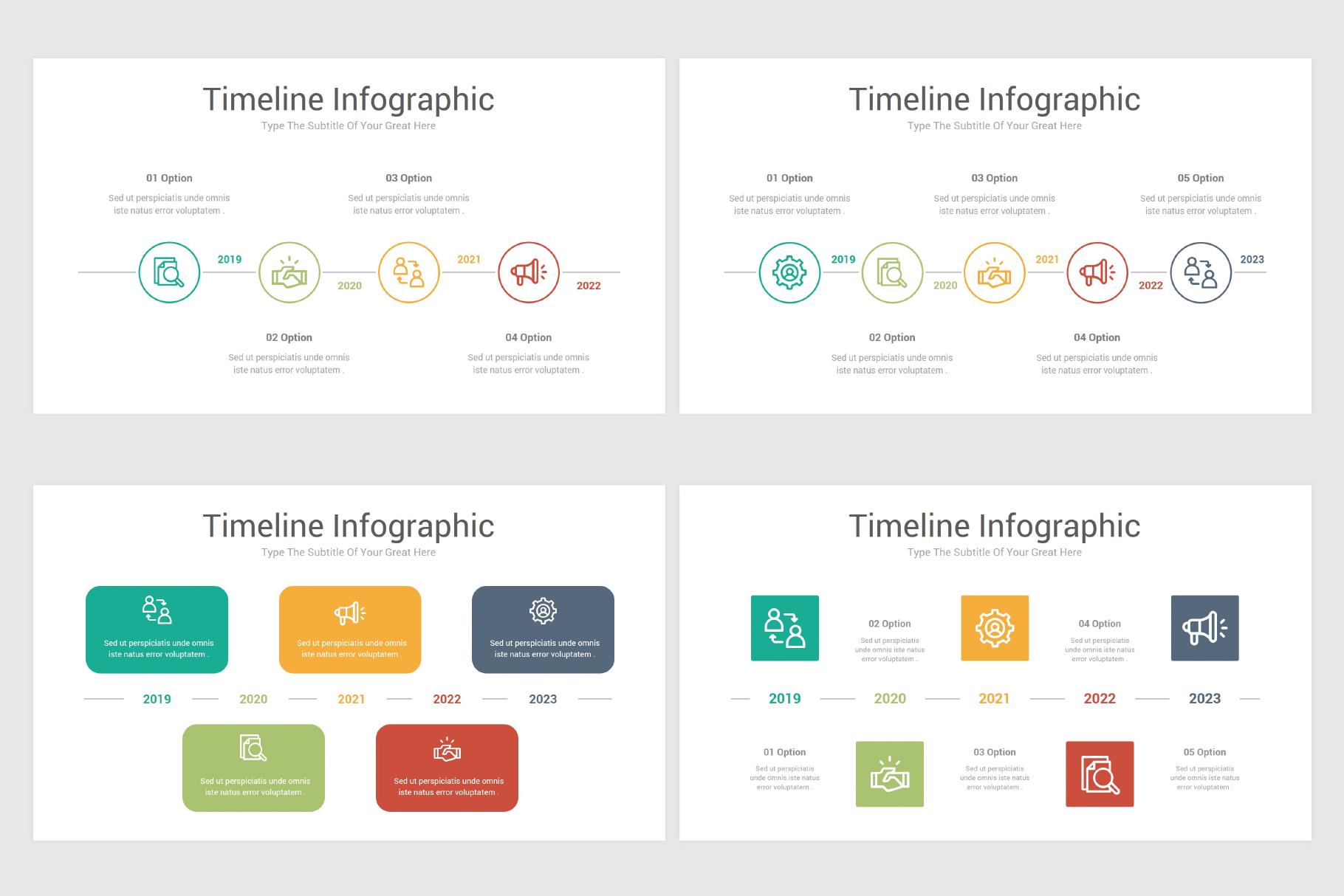 Keynote Timeline Infographics Pack-2 example image 9