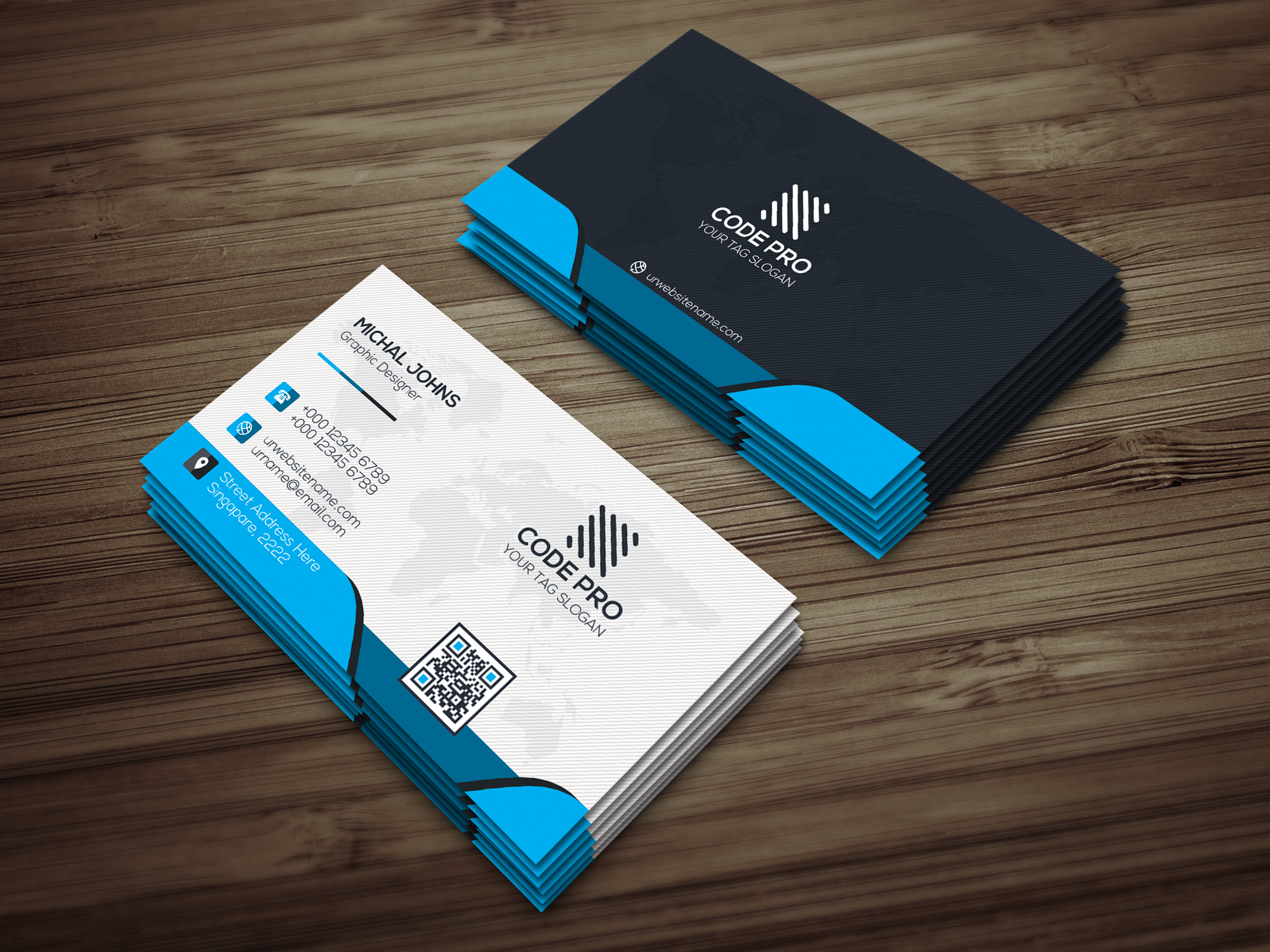 Creative Business Card example image 1