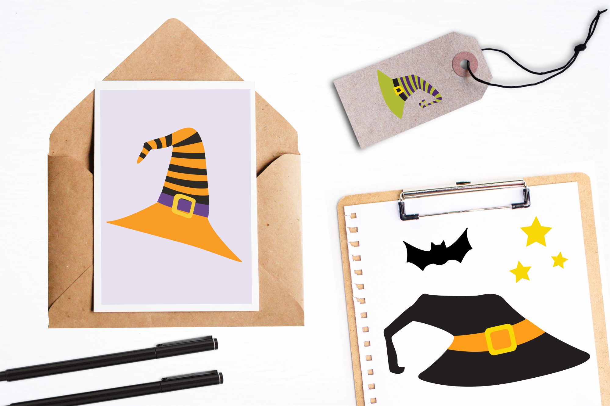 Halloween Hats graphics and illustrations example image 4