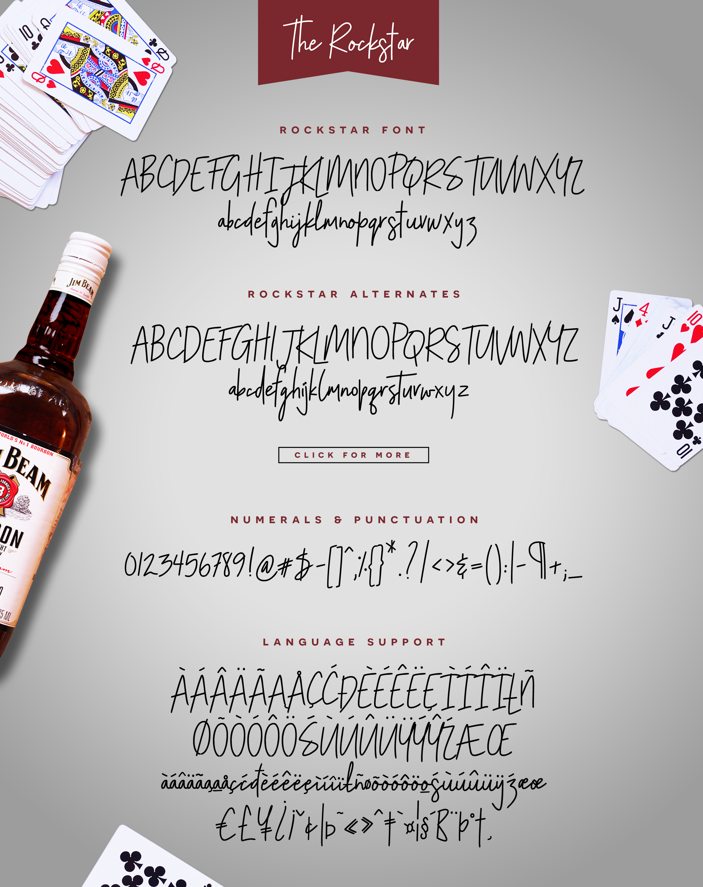 The Rockstar Font Duo example image 4