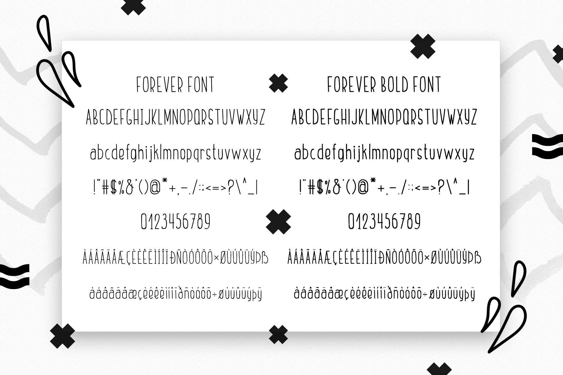 Friends Forever - Childrens font duo example image 9