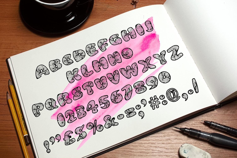Zen3 Font example image 2