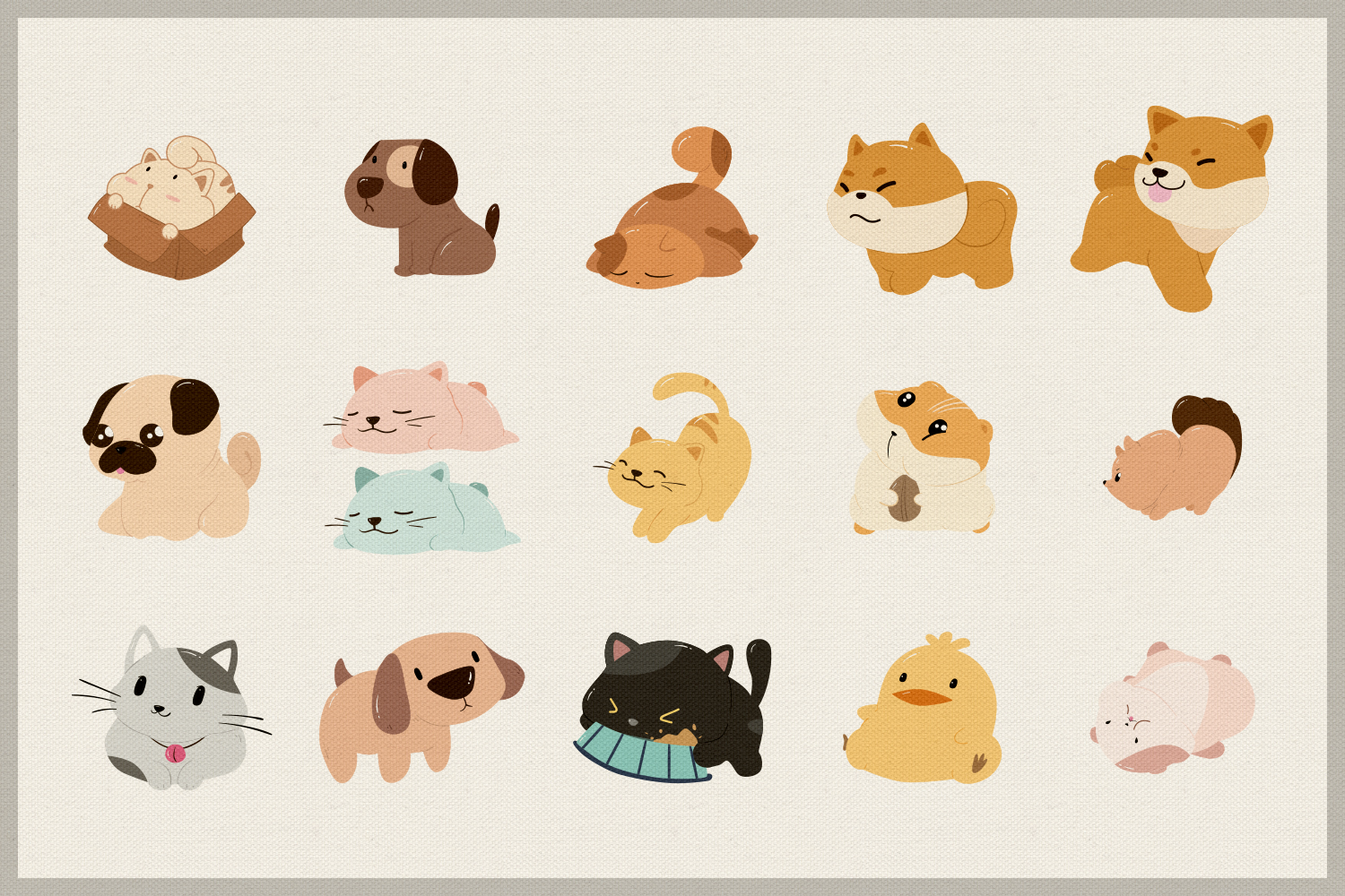 Pet Lovers Vector Clipart example image 2