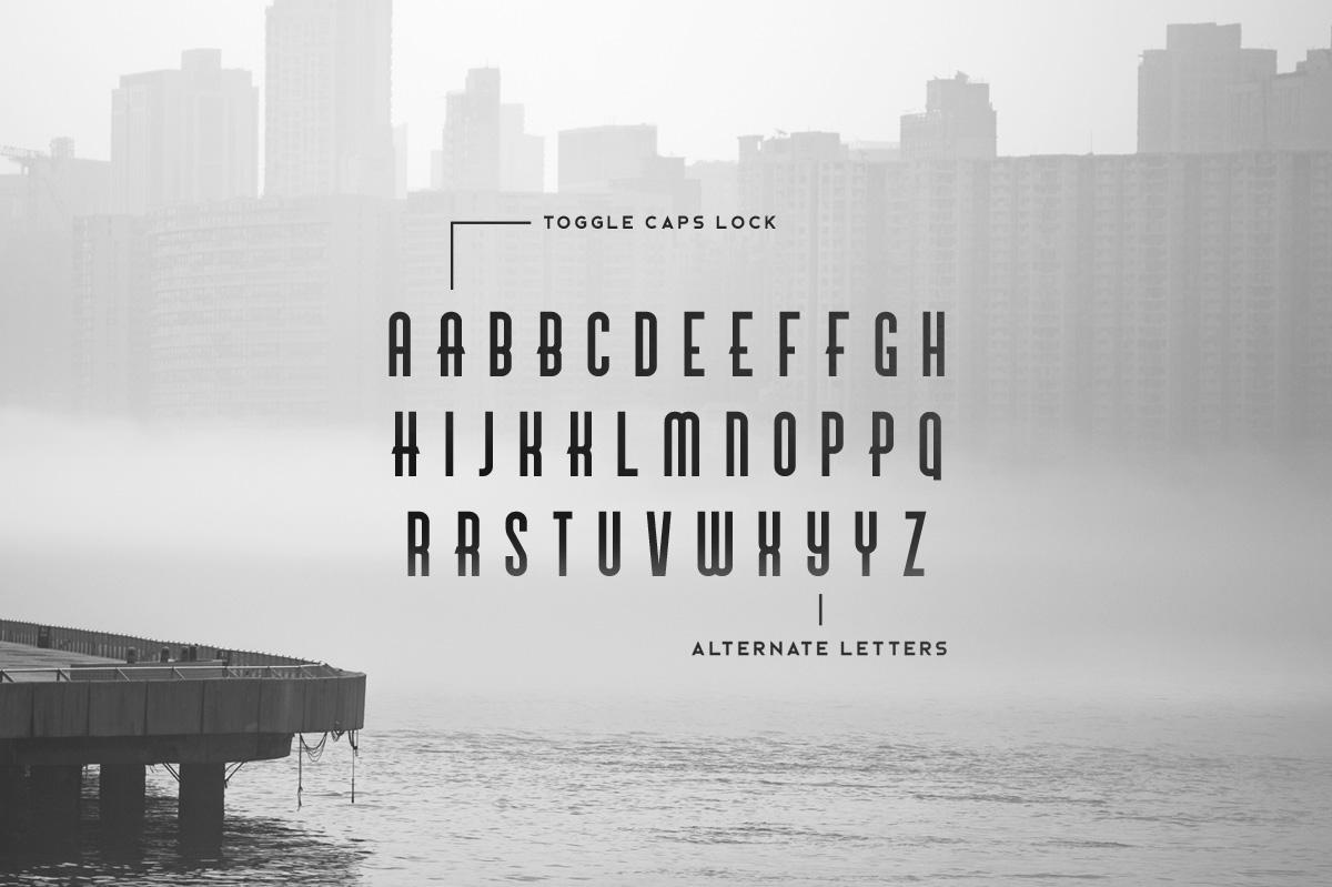 Brigmore Typeface example image 4