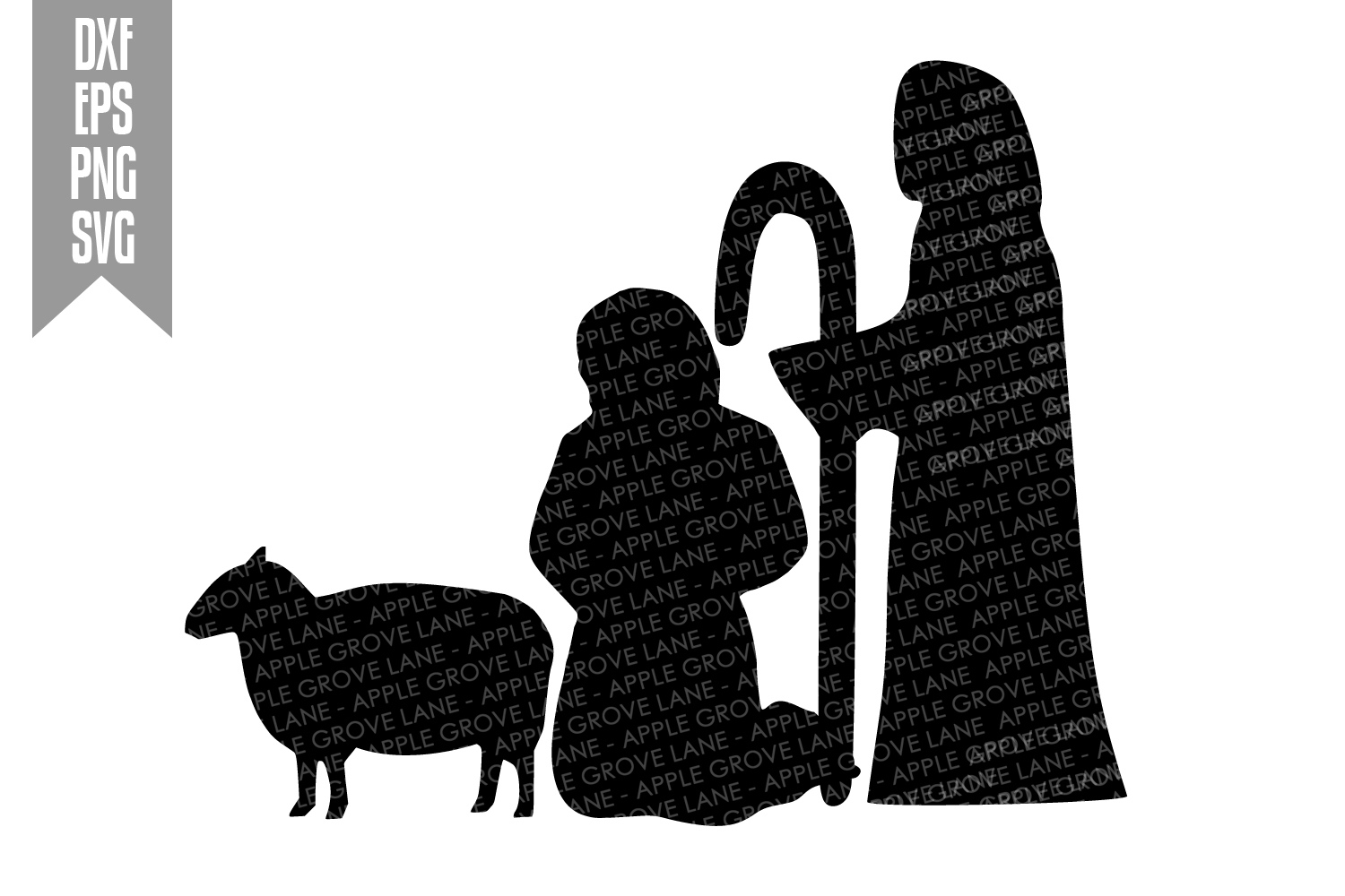Nativity Svg Bundle - 9 designs included - Svg Cut Files example image 4