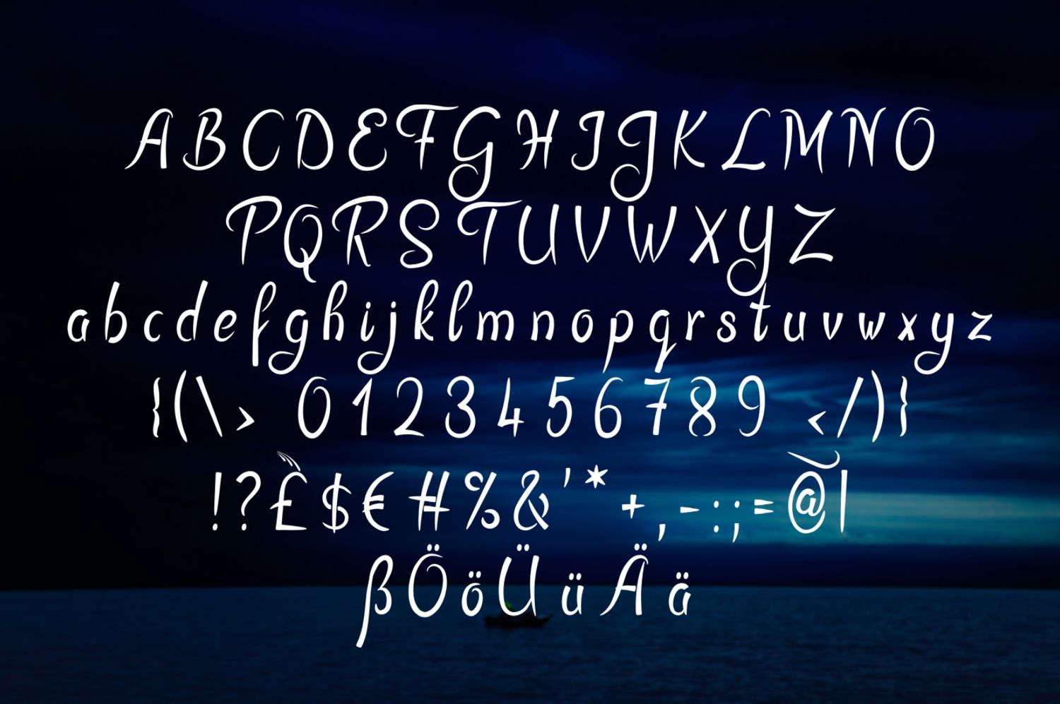 Sykenga Stencil Font example image 3