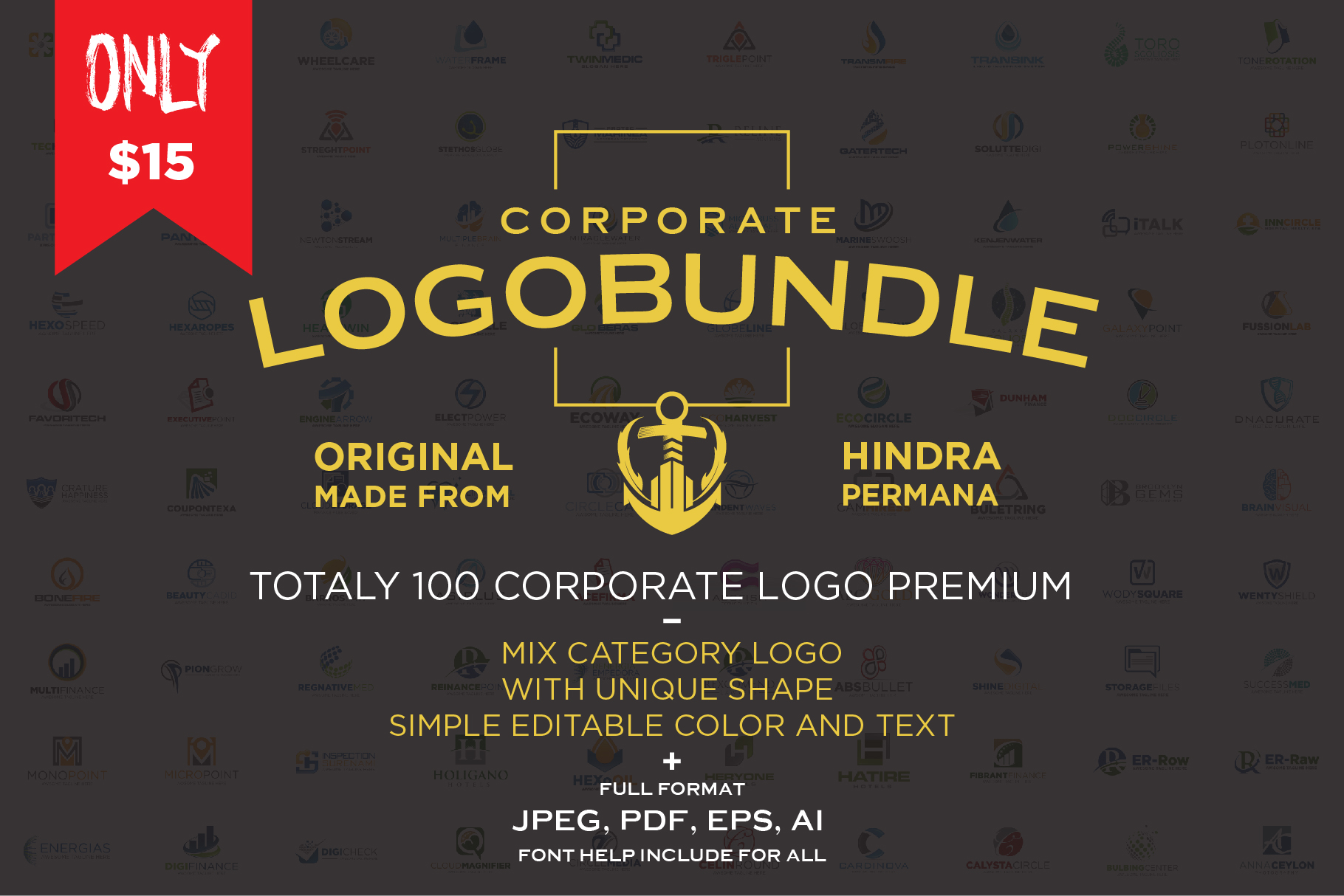 Corporate Logo Bundle example image 1