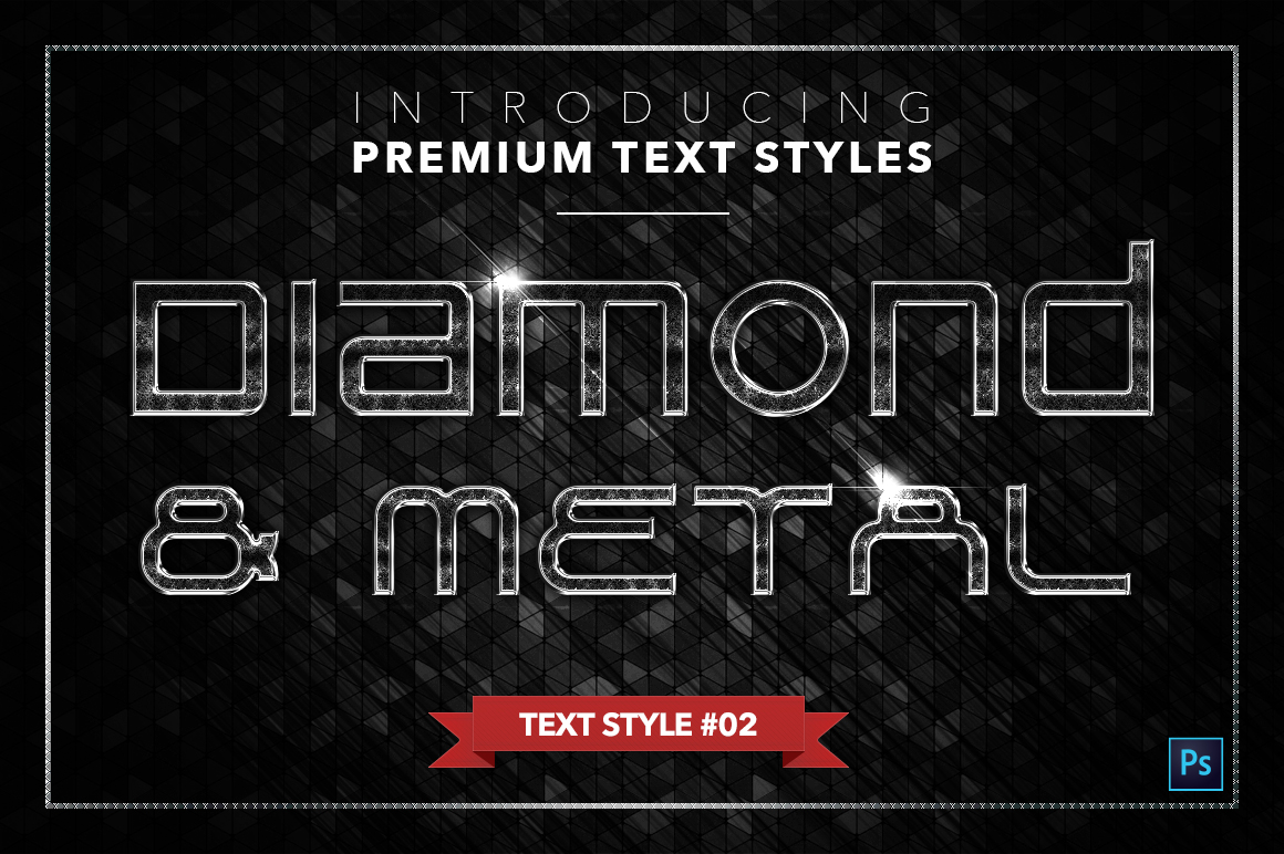 Diamond & Metal #3 - 18 Text Styles example image 3