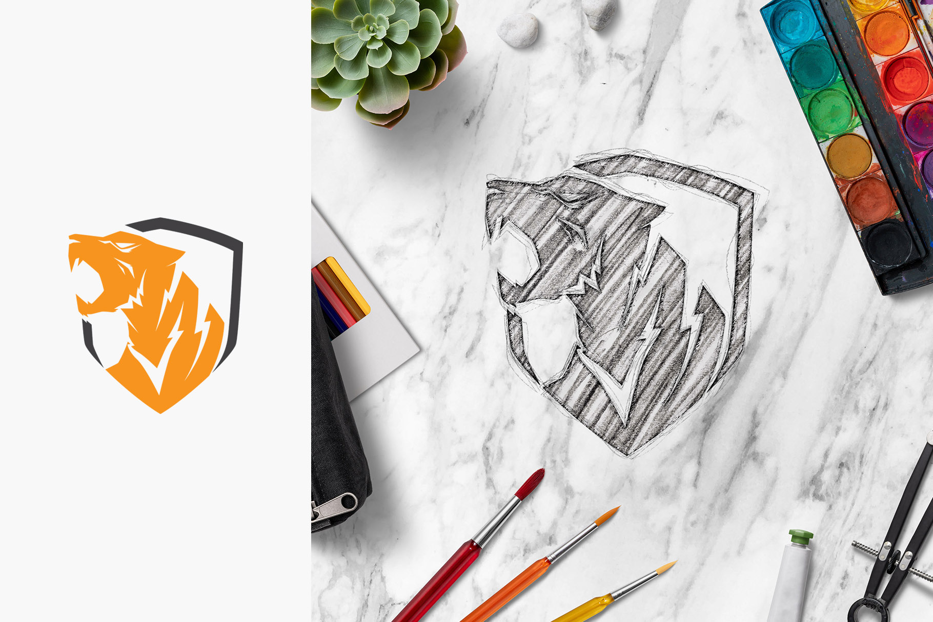All-In-One Logo Mockup Creator example image 22