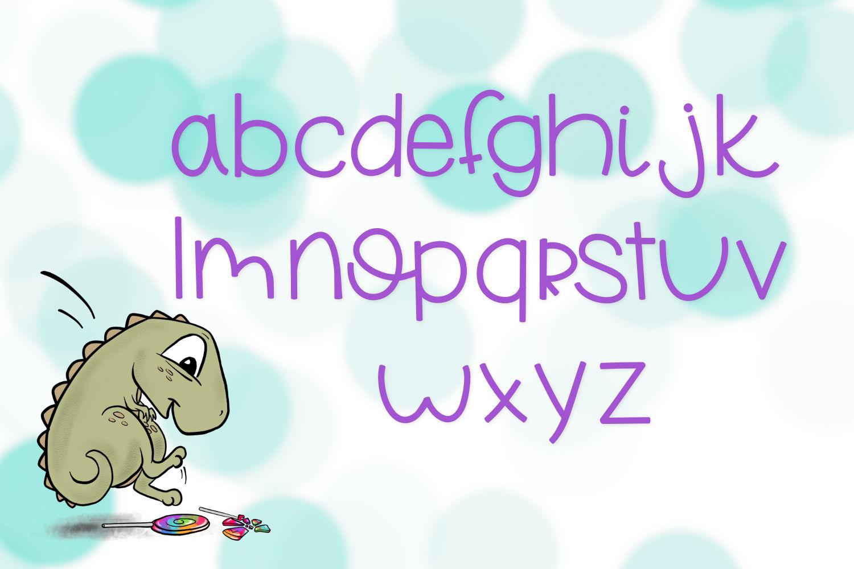 Lollipop Stomp A Handwritten Font example image 4