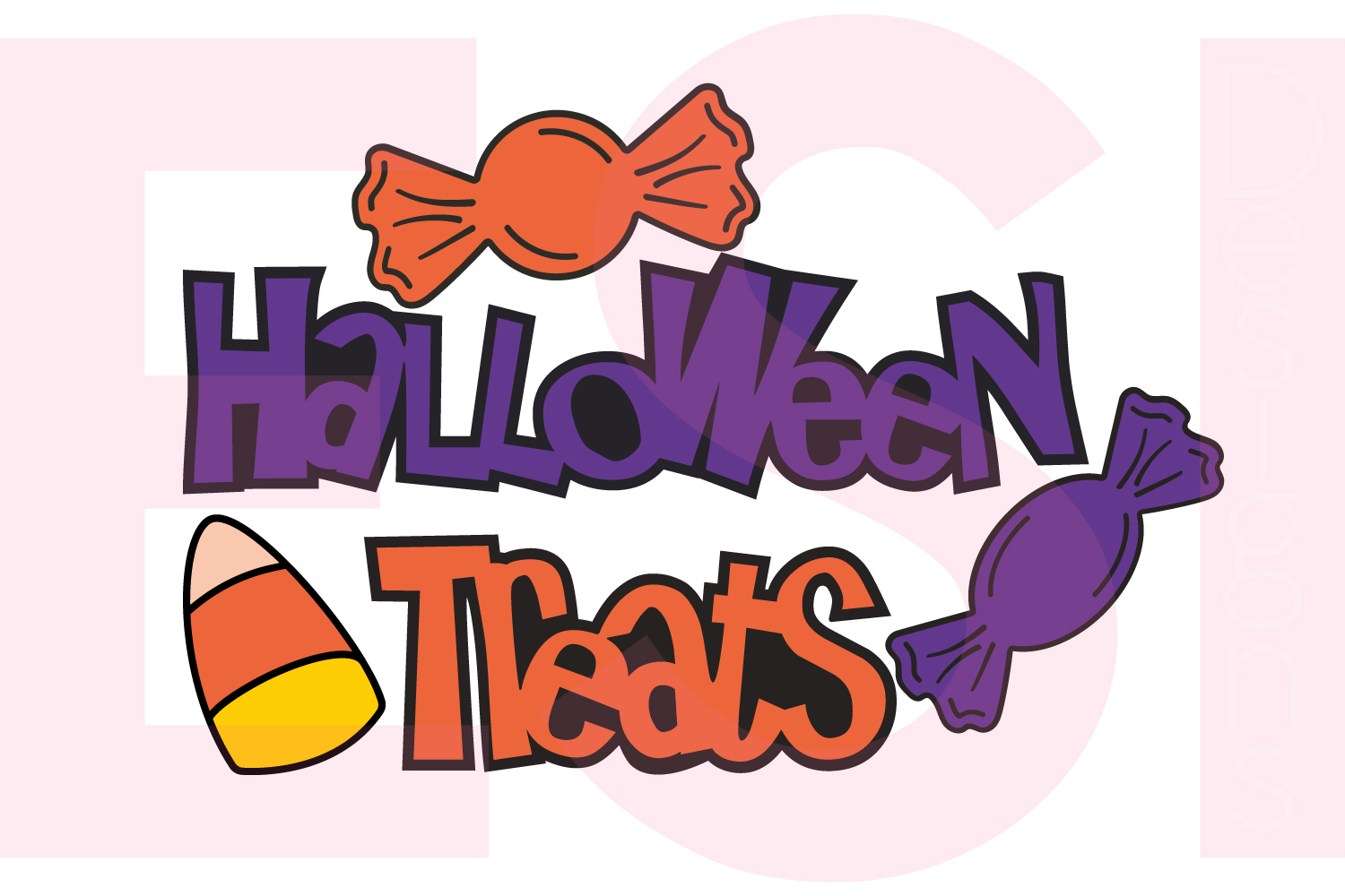 Halloween and Fall Designs Bundle -SVG DXF EPS & PNG example image 5