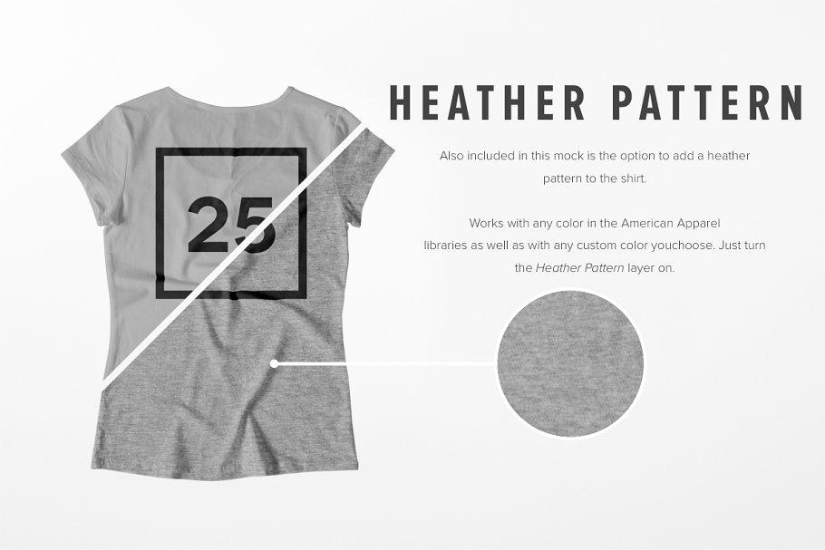 8 Premium Girl's T-Shirt Mockups example image 7