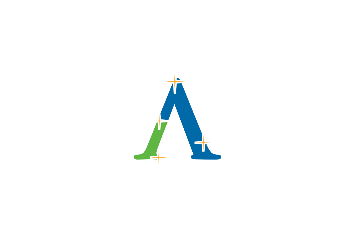 a letter cleaning logo example image 1