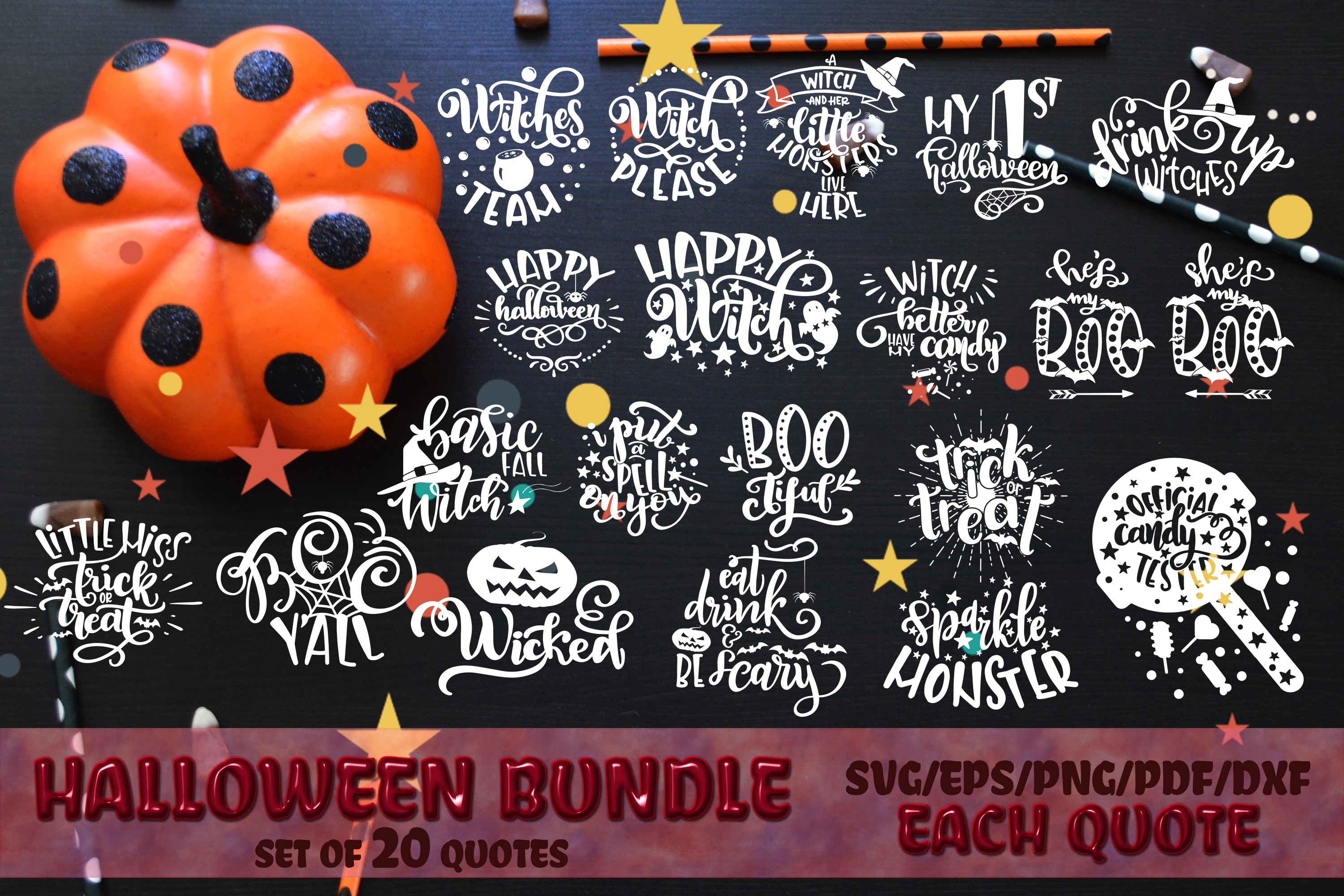 Fall svg BUNDLE BIG set of 80 quotes Autumn Thanksgiving example image 2