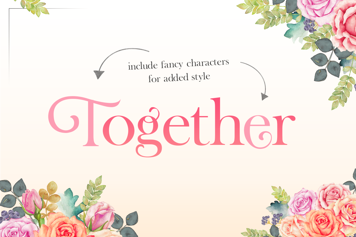 Tough Serif Font example image 4
