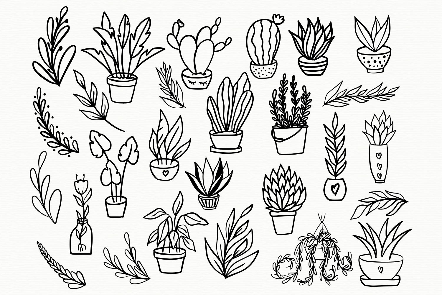 Plant Mom Font & Doodles example image 5