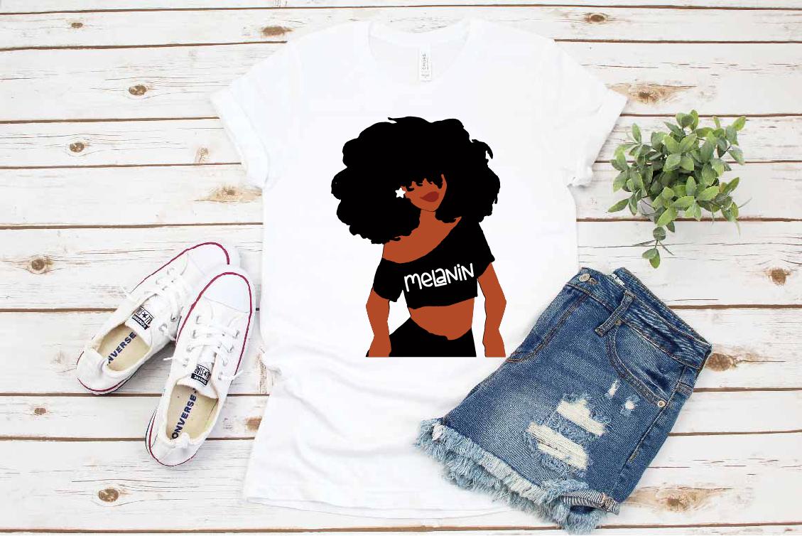 Black woman svg, black woman clipar Melanin svg roots example image 1