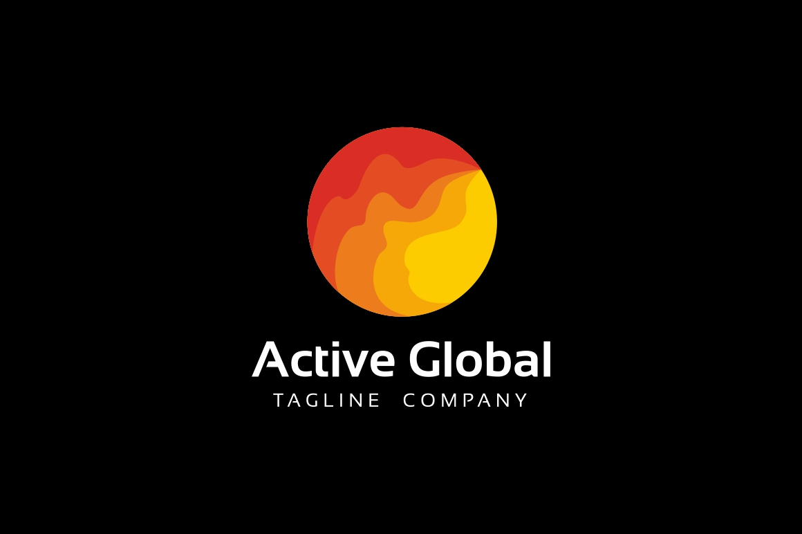 Active Global Logo example image 2