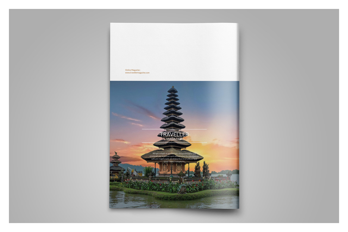 Indesign Magazine Template example image 15