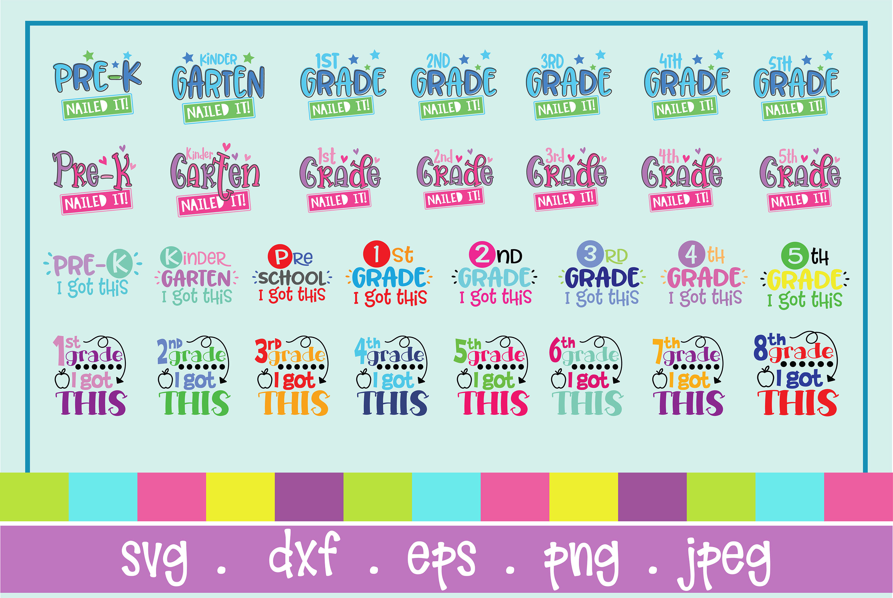 The Huge SVG Bundle Vol 2, 500 Cutting files, SVG, DXF,PNG example image 5