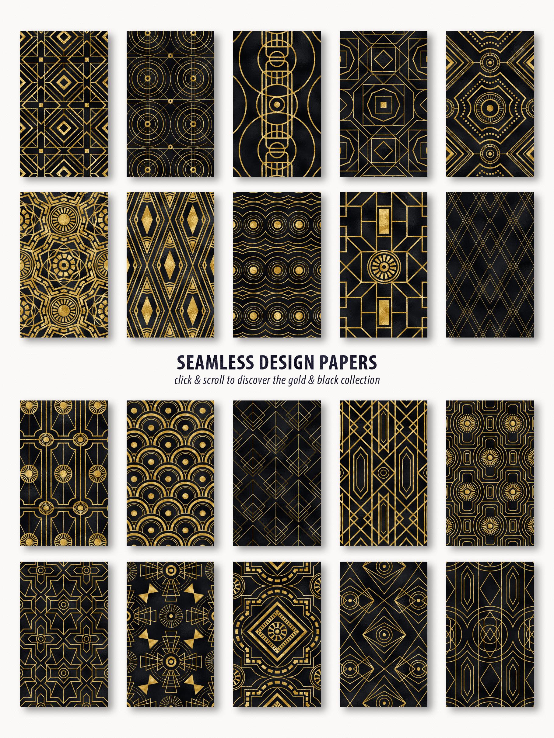 Noir - Patterns & Textures Bundle example image 22