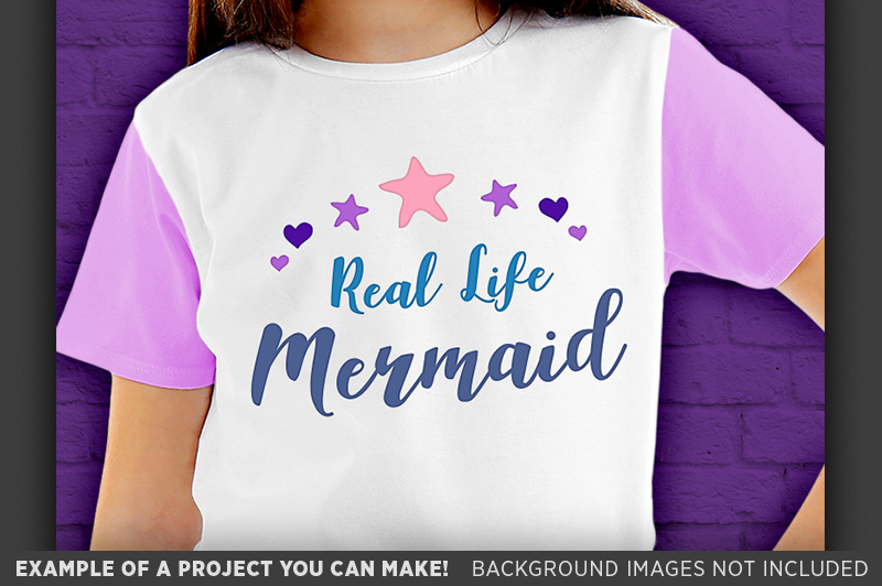 Real Life Mermaid SVG File - Mermaid SVG - 1064 example image 3