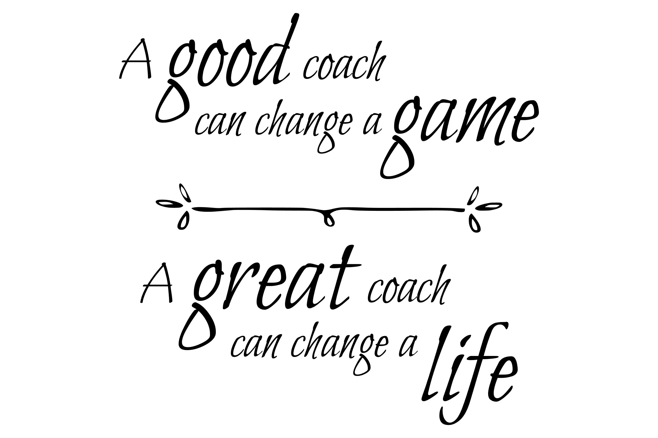 A great coach can change a life - SVG PNG EPS example image 2
