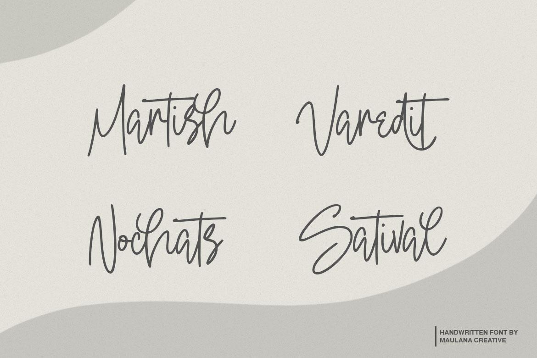 Oterdin - Handwritten Font example image 7