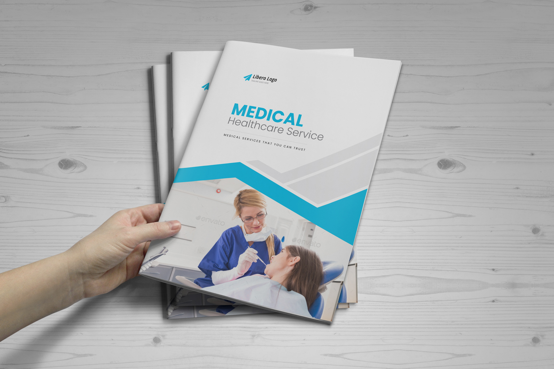 Medical HealthCare Brochure v6 example image 15