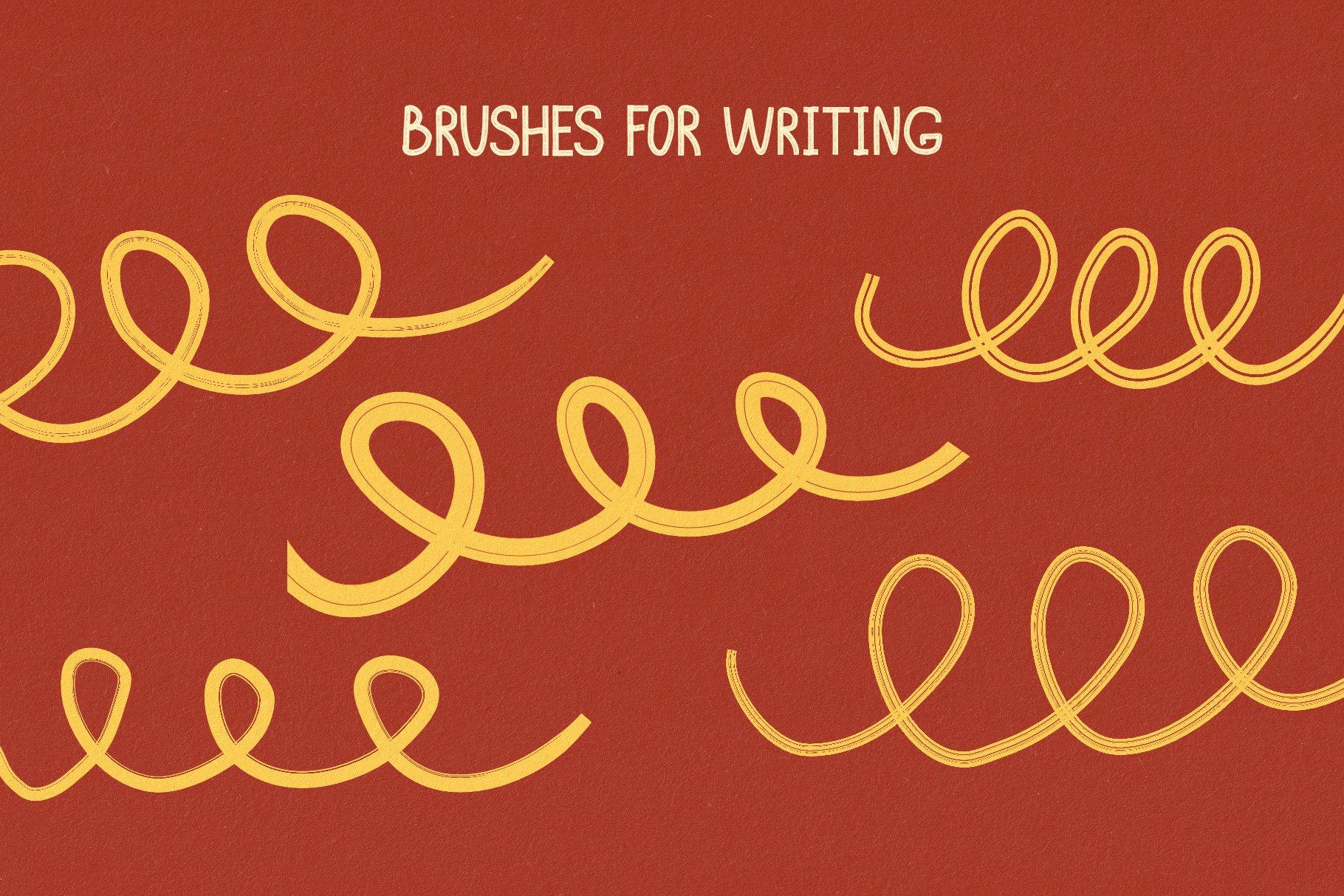 Hand Drawn Brushes for Affinity Designer example image 6