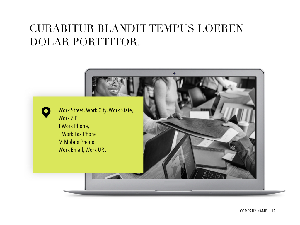 Publisher PowerPoint Template example image 20