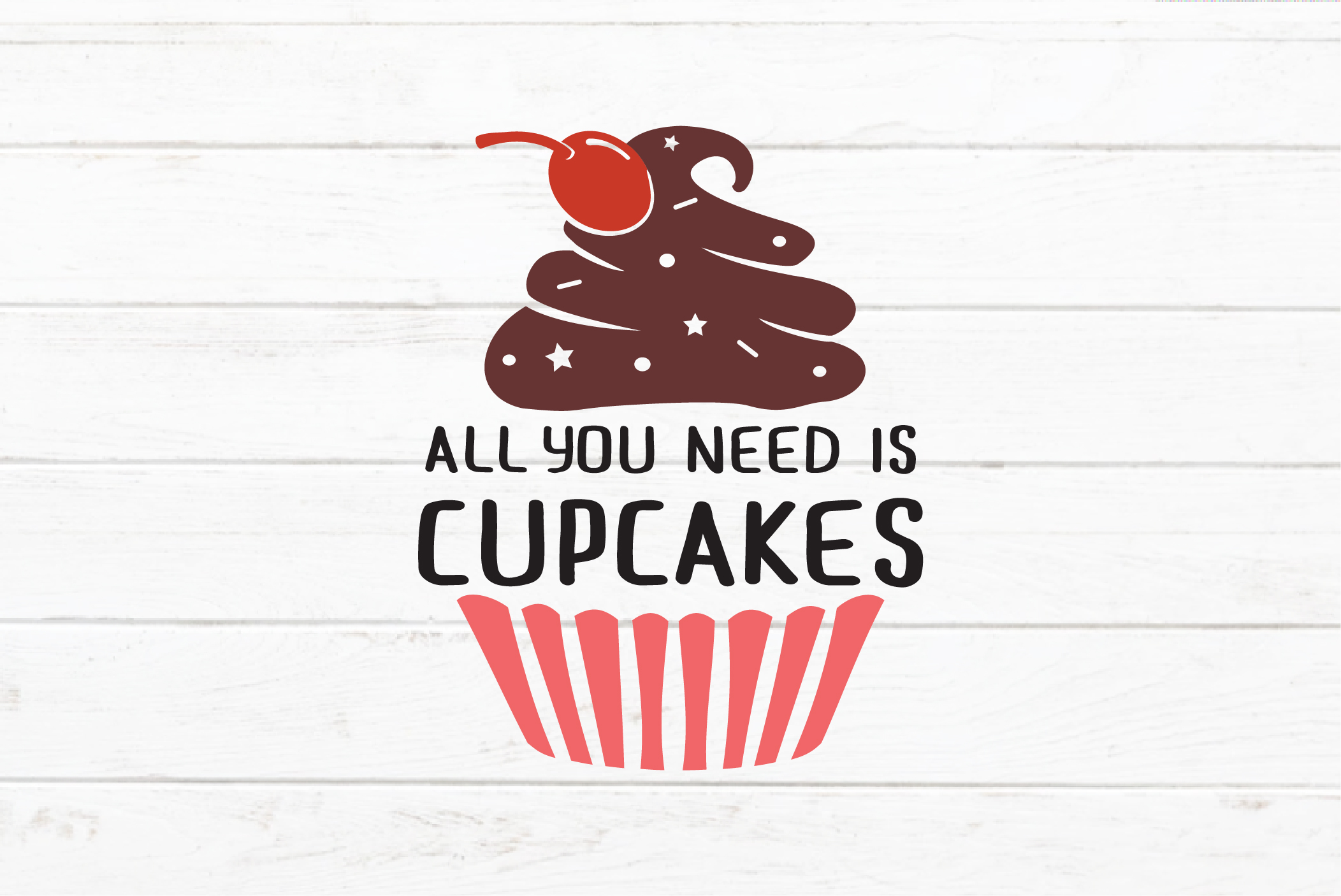 Cupcakes quotes SVG example image 5