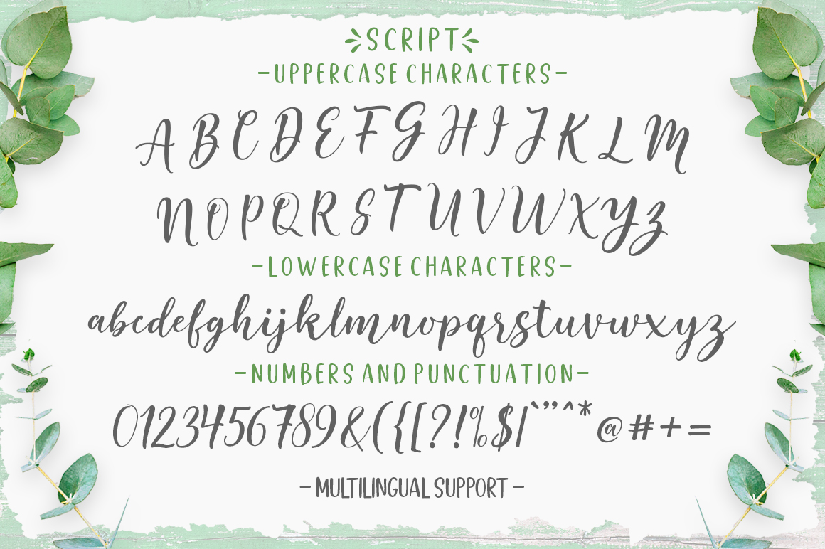 Good Selection Font Duo & Extras example image 8