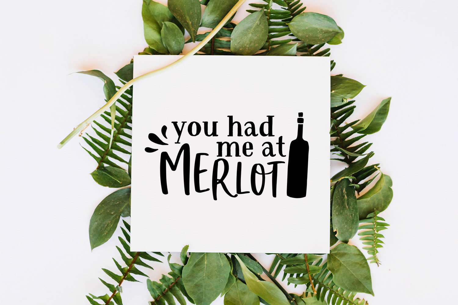 Wine Lover's Quote SVG Cut File Bundle example image 5