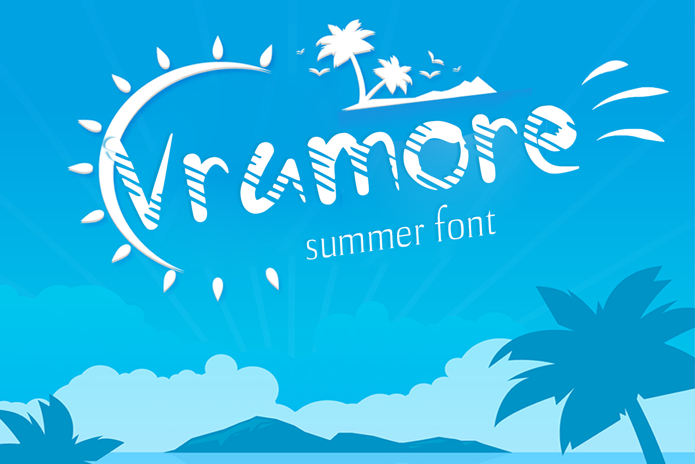 Vramore Summer Font example image 1