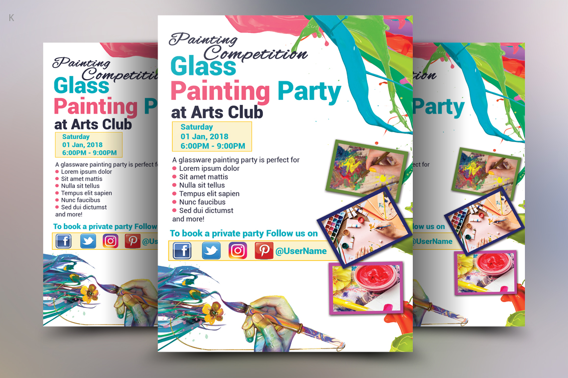 painting Flyer example image 1