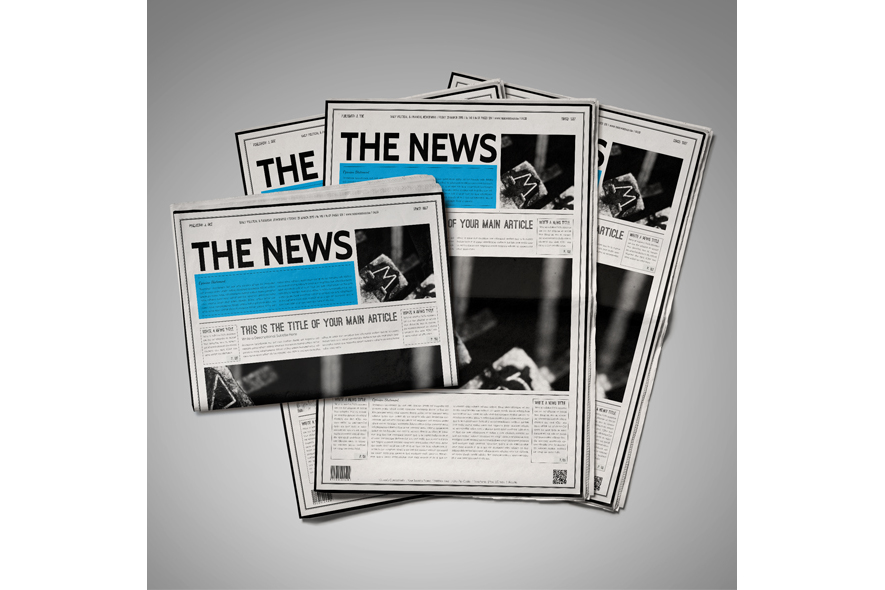 Classic Newspaper Template example image 6