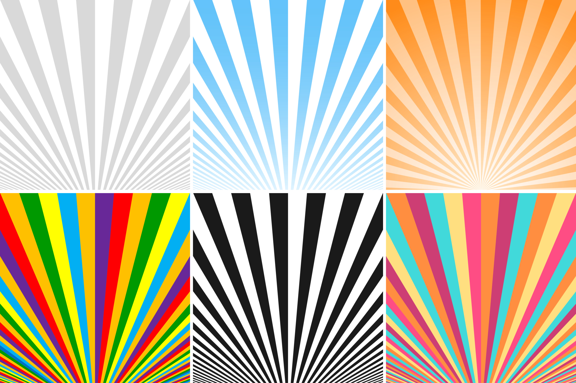 Collection of striped backgrounds. example image 1