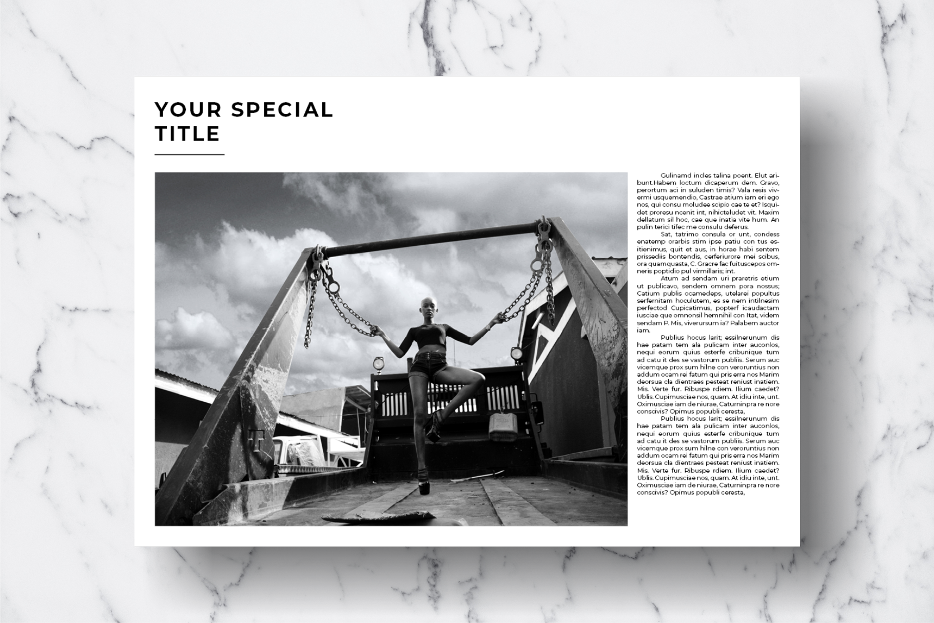 Magazine Template Vol. 12 example image 11