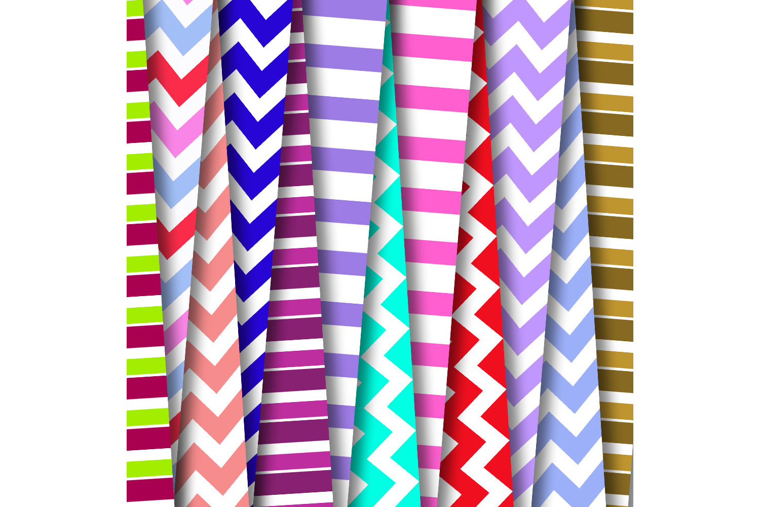 Colorful patterned, Striped Papers, Patterned, BLACK FRIDAY example image 2