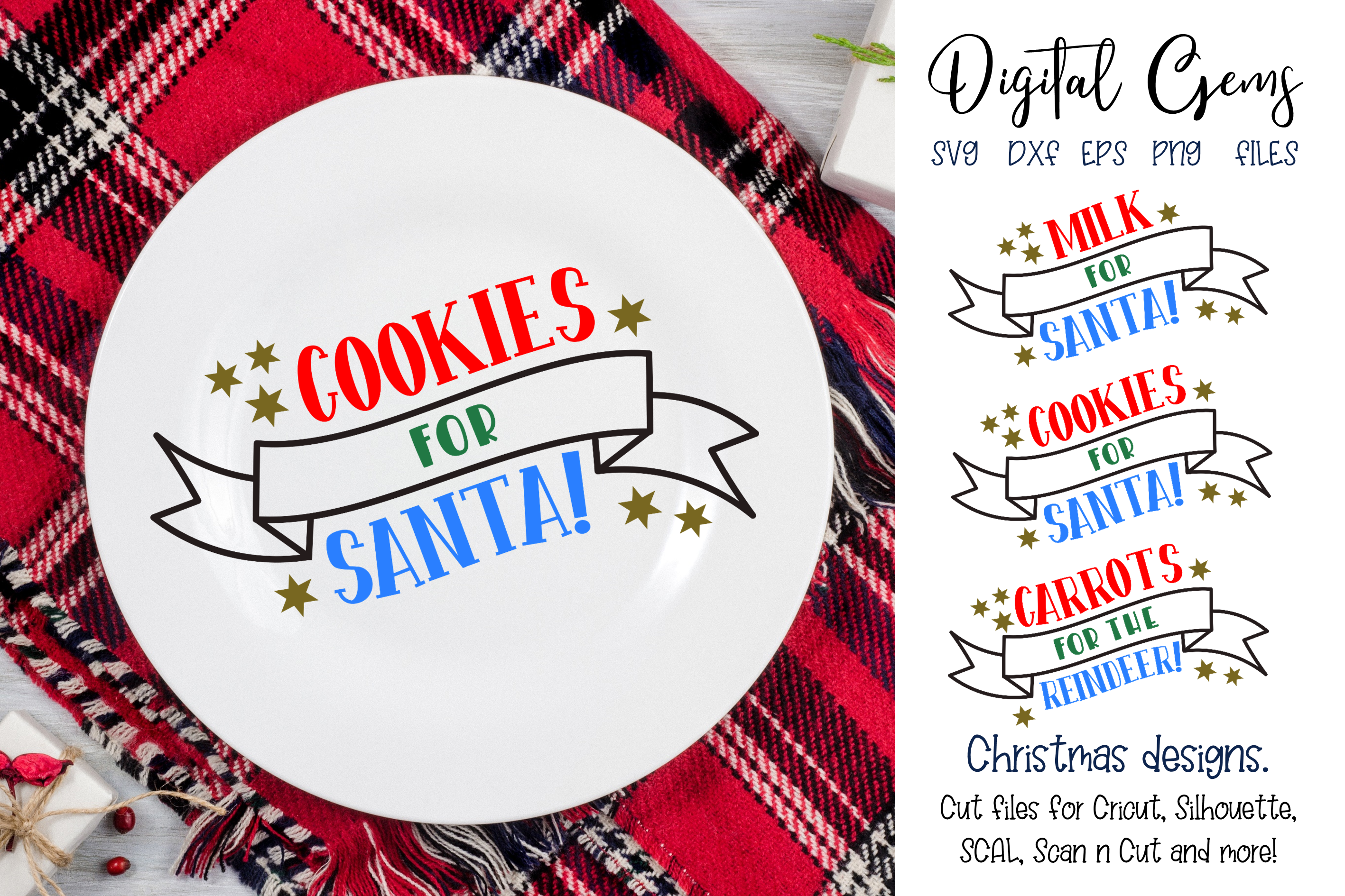 Cookies and Milk for Santa and Carrots for the Reindeer example image 1