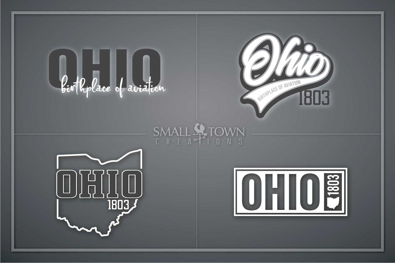 Ohio, Birthplace of Aviation - slogan, PRINT, CUT & DESIGN example image 1