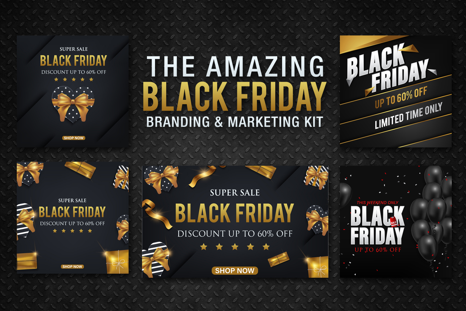 Black Friday Templates Vol 2 example image 3