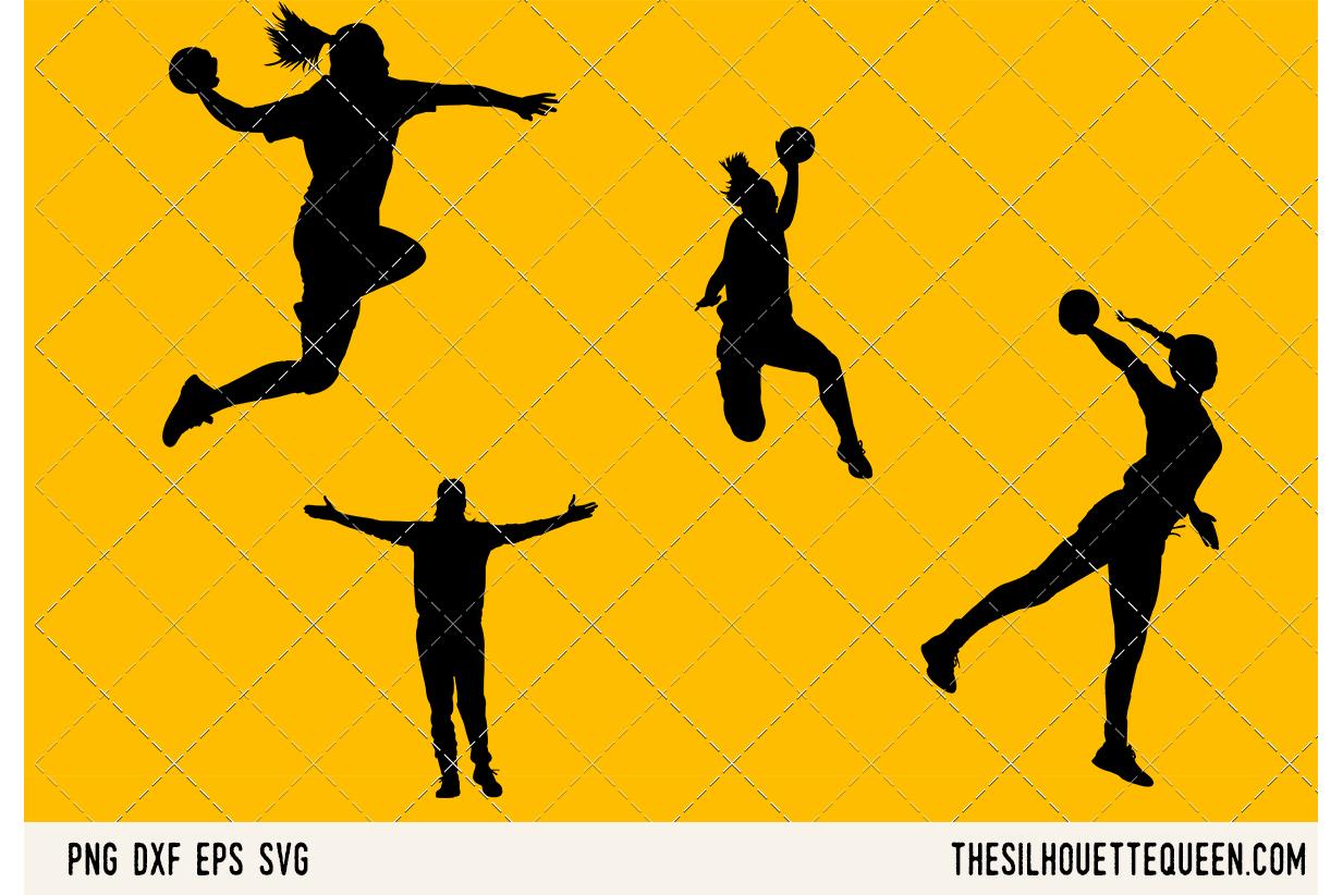 Handball Women SVG example image 1